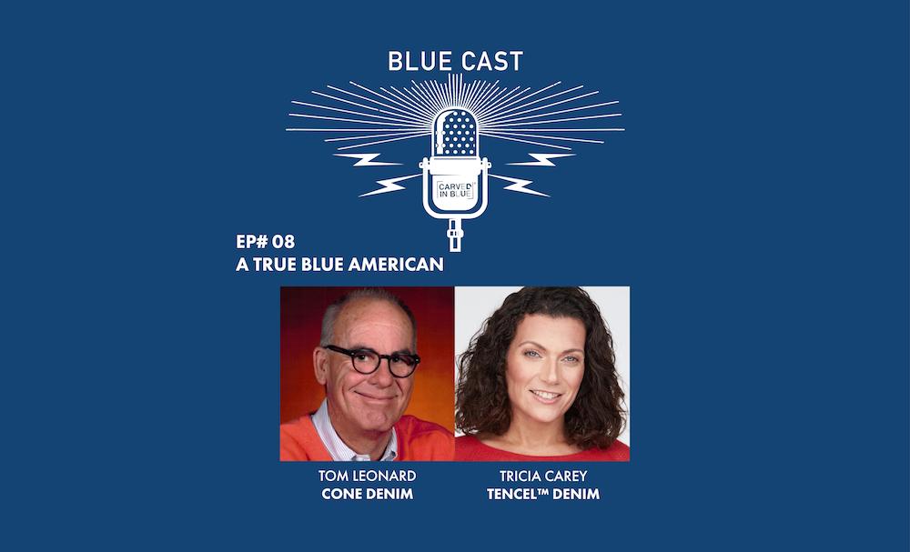 Blue Cast Tom Leonard Cone