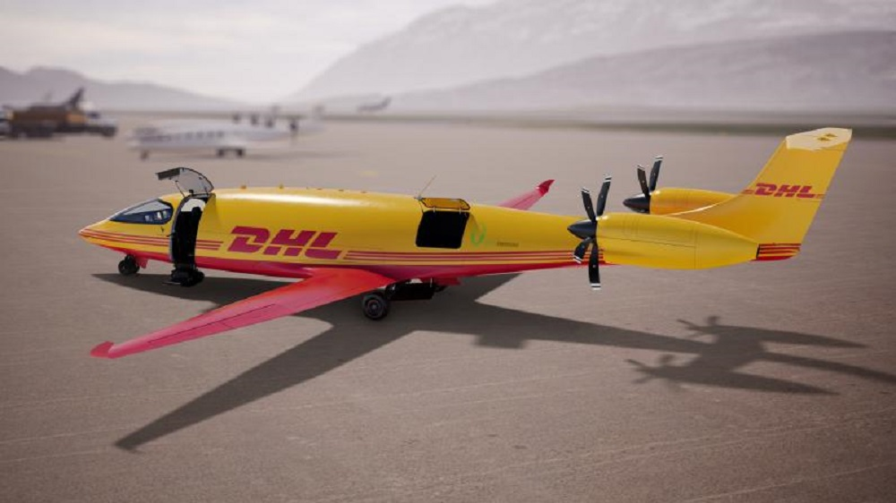 DHL Express and Eviation, which makes all-electric aircraft, said DHL is the first to order 12 of its fully electric Alice eCargo planes.