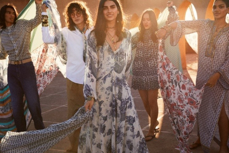 H&M and Sabyasachi collaborated on an eclectic, bohemian collection