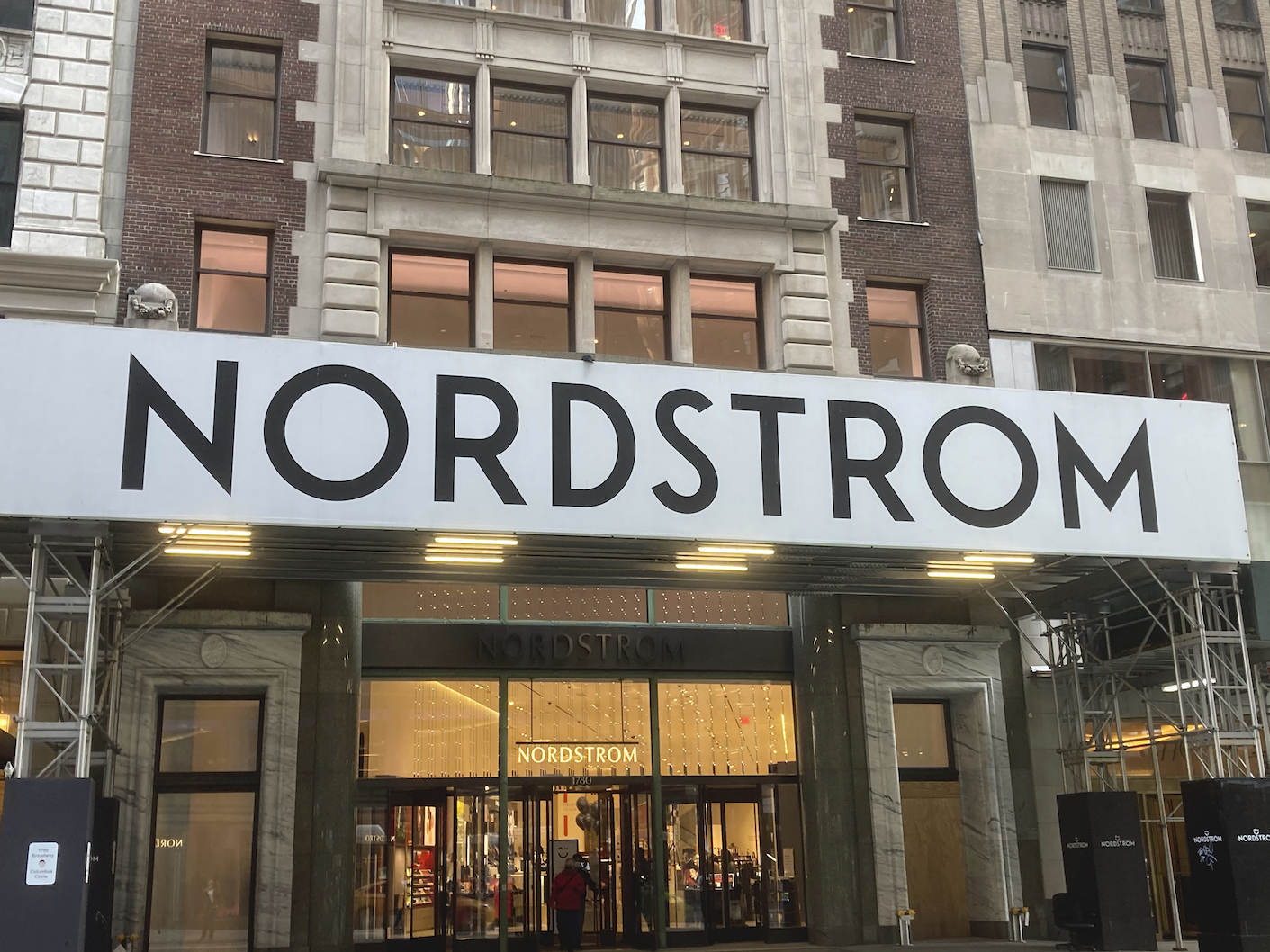 Nordstrom raised its 2021 sales and earnings outlook after beating forecasts, but the retailer is finding it hard to plan inventory flow.