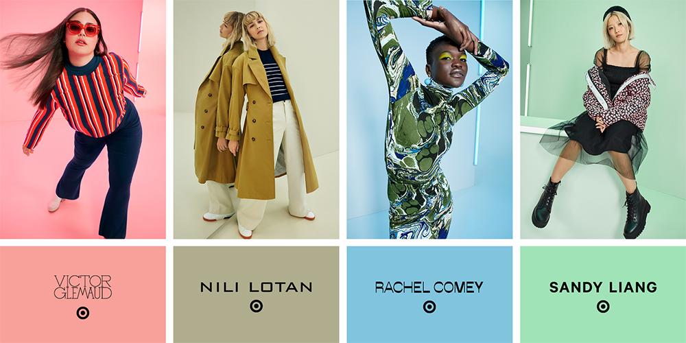 Target collaborates with Victor Glemaud, Nili Lotan, Rachel Comey and Sandy Liang on September's 180-piece autumn fashion collection.