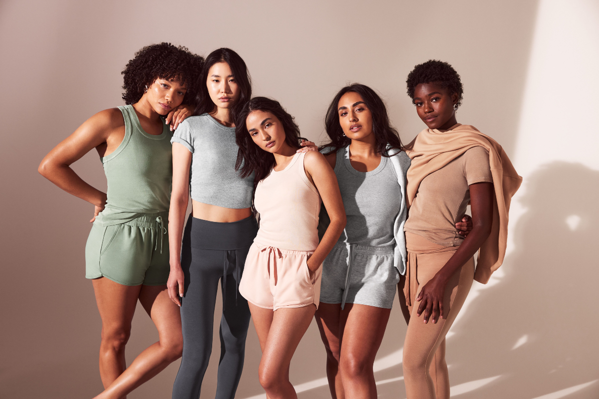 Fabletics plans to launch a new Lounge category on Sept. 1, offering 17 items made with comfort-focused loungewear fabrics.