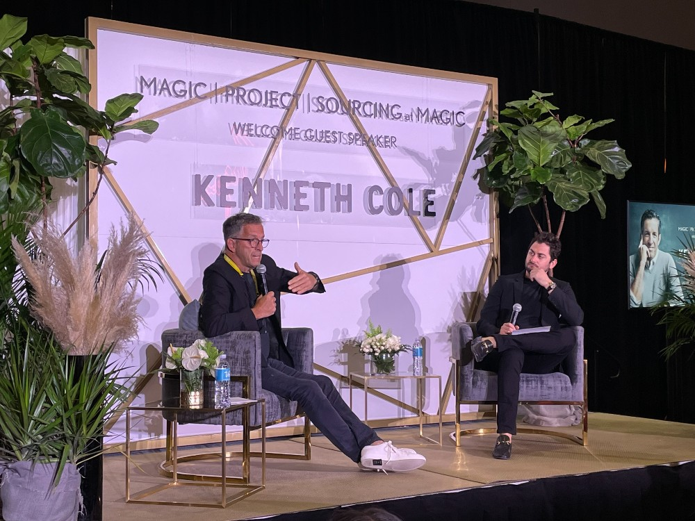 Sourcing Journal's Edward Hertzman spoke with Kenneth Cole on Monday.