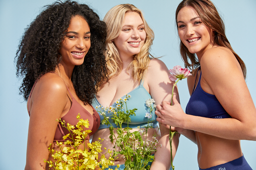 Intimates expert Gelmart tapped Brazilian sugarcane when creating the Kindly Yours line of bras and underwear, launching at Walmart Tuesday.