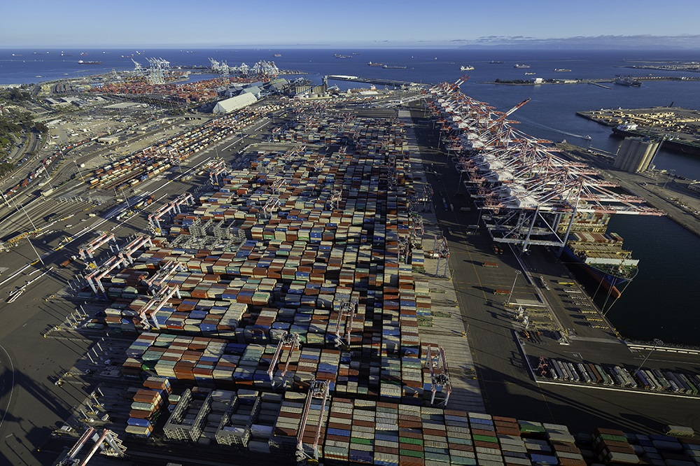 The Port of Long Beach entered the next stage in environmentally sustainable operations, completing its new cargo container terminal.