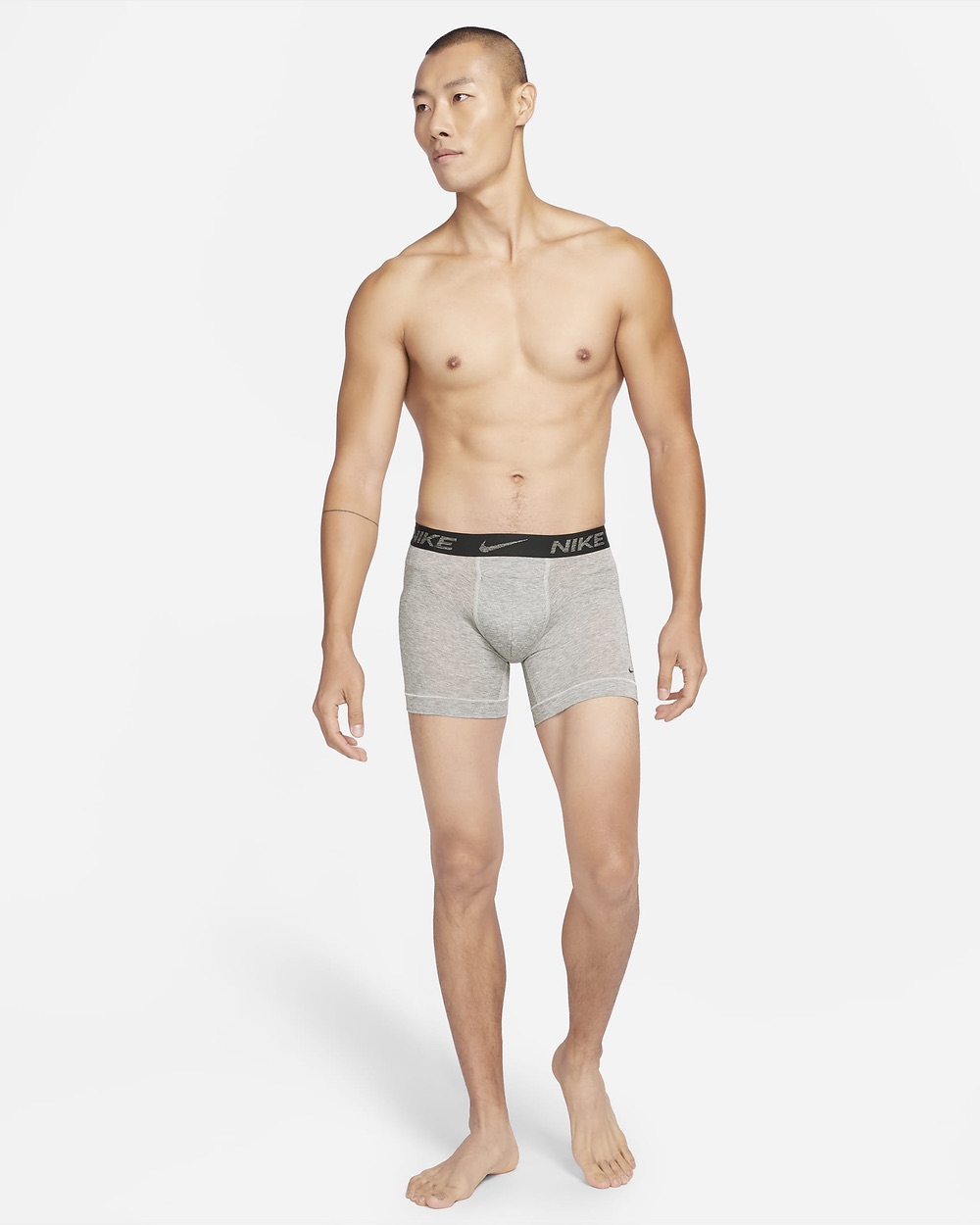 Nike has unveiled a men's boxer brief that comprises at least 75 percent recycled polyester to reduce waste and carbon emissions.