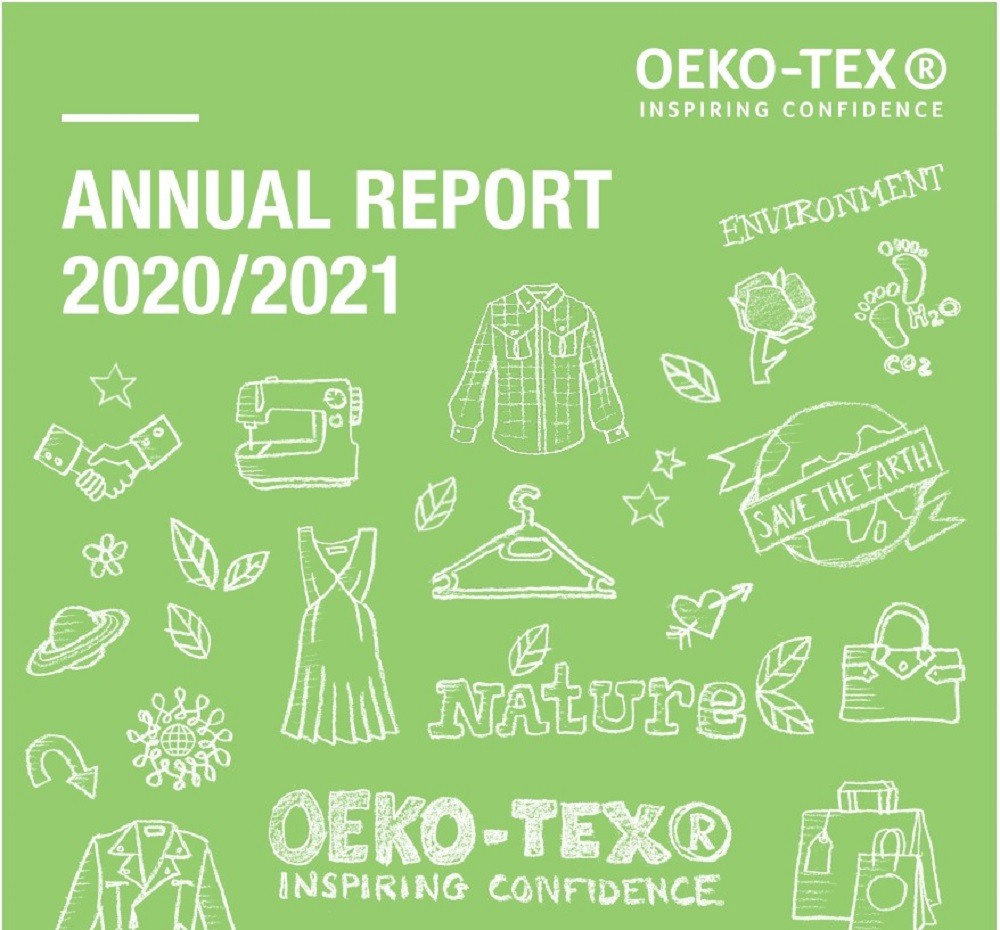 Oeko-Tex said despite the challenges of the pandemic, it issued more than 31,000 certificates and labels in the past year, up 31 percent.