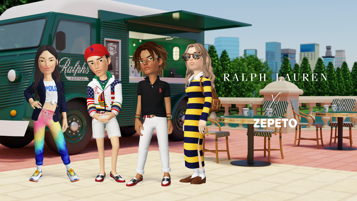 Ralph Lauren steps into the metaverse with a digital fashion collection and thematic virtual worlds made for Zepeto, a Gen Z-favored app.
