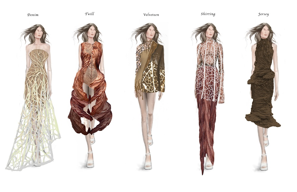 Supima announced the finalists for its Design Competition, where students showcase eveningwear collections created with Supima cotton.