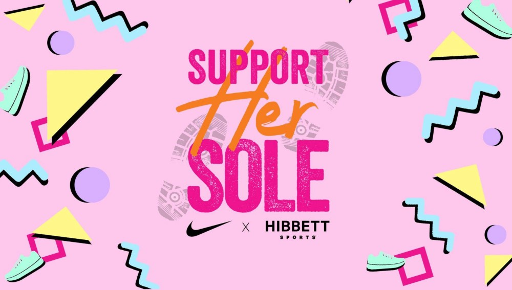 Hibbett Sports launched the Support Her Soles campaign on Thursday.