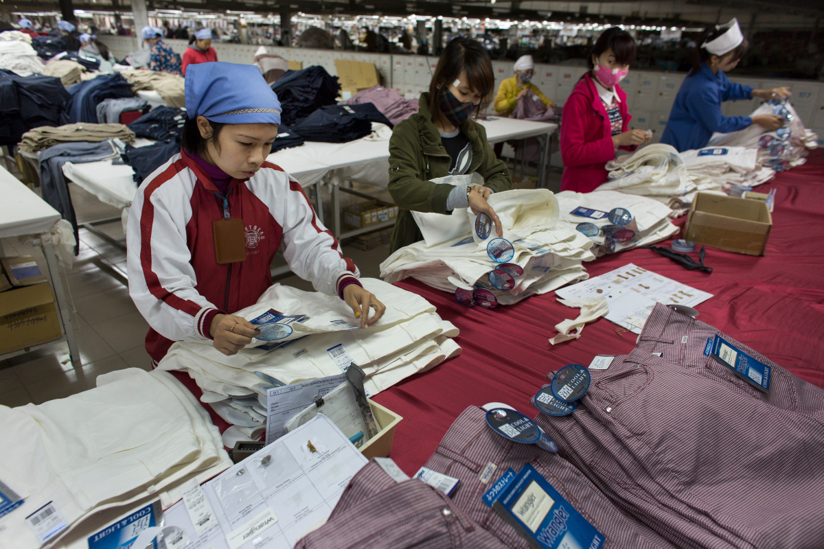 Vietnam has displaced Bangladesh as the world's second-largest apparel exporter, according to a WTO report.