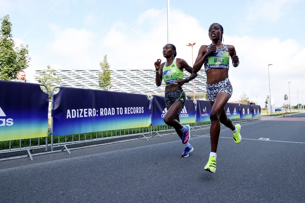 Agnes Jebet Tirop broke the world record in the women's only 10K Sunday