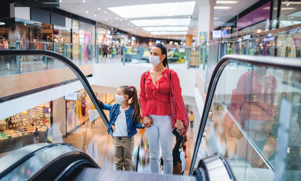 """A new UBS report says """"major store closures continue,"""" while some economists believe a US August retail sales surprise is a one-off event."""