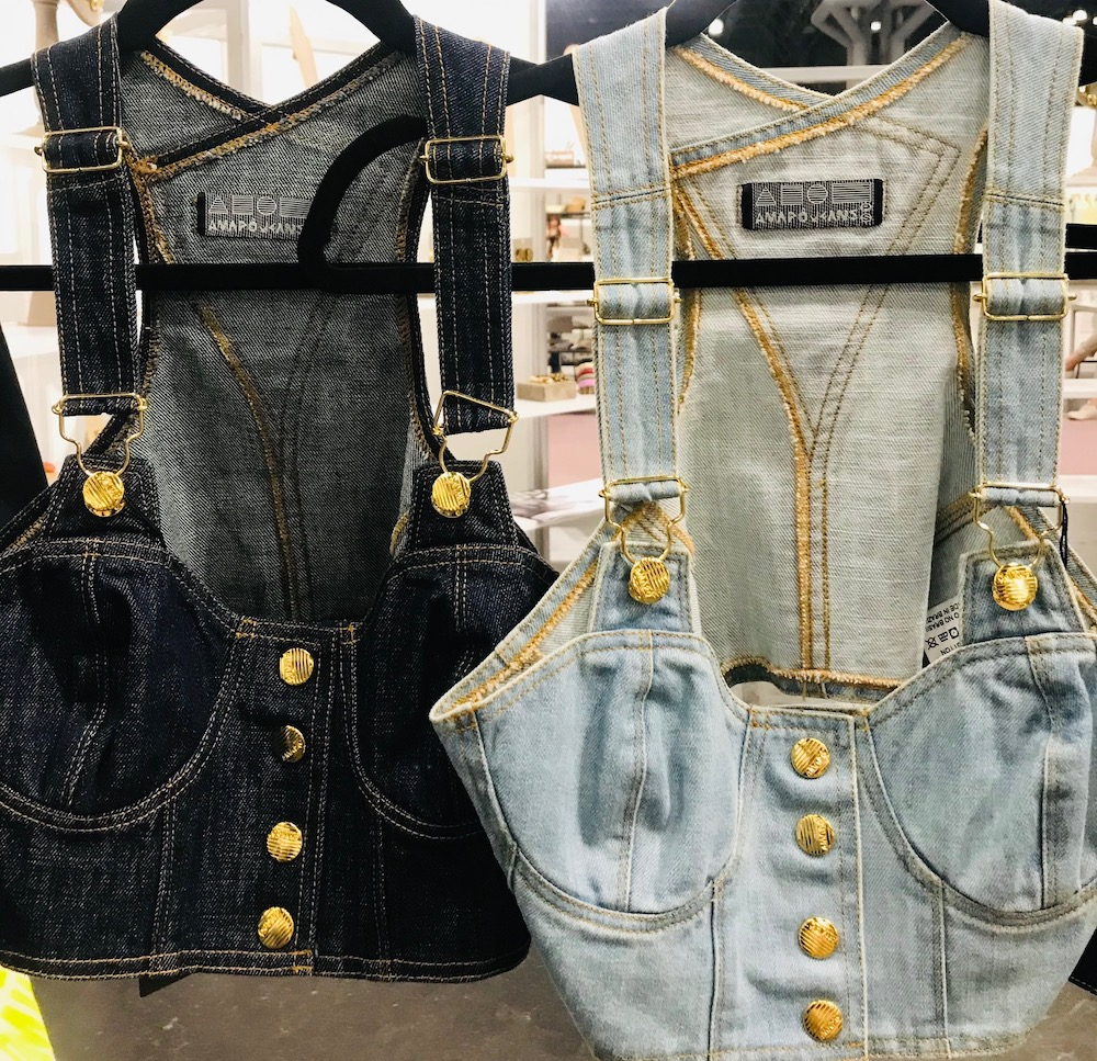 Brands showcased their Spring/Summer 2022 collections featuring colorful denim centered on comfort-first and eco-friendly properties.