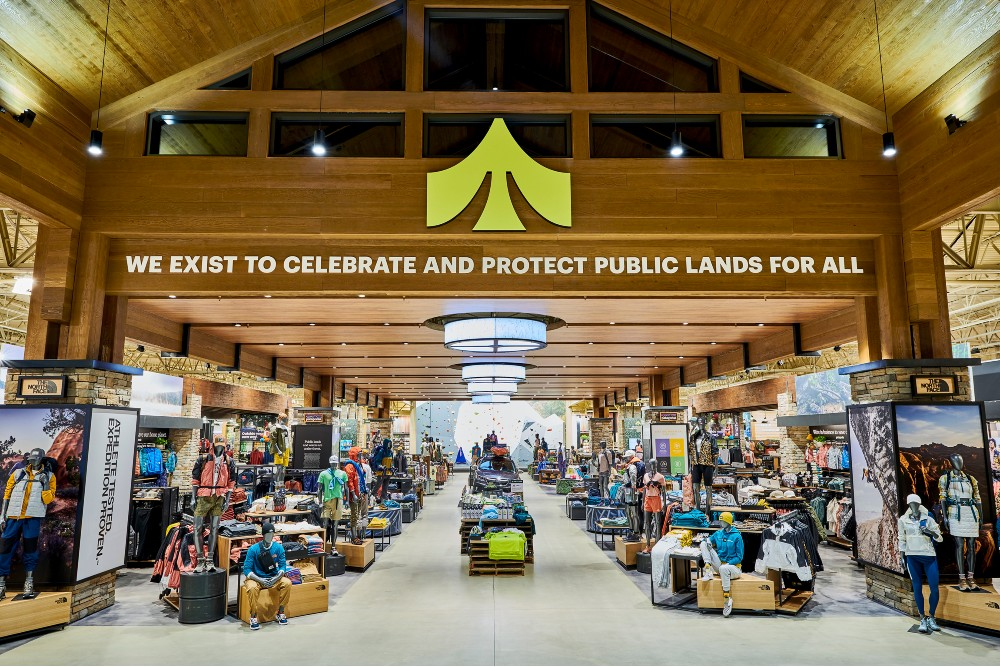 Dick's Sporting Goods opened its first Public Lands outdoor specialty store
