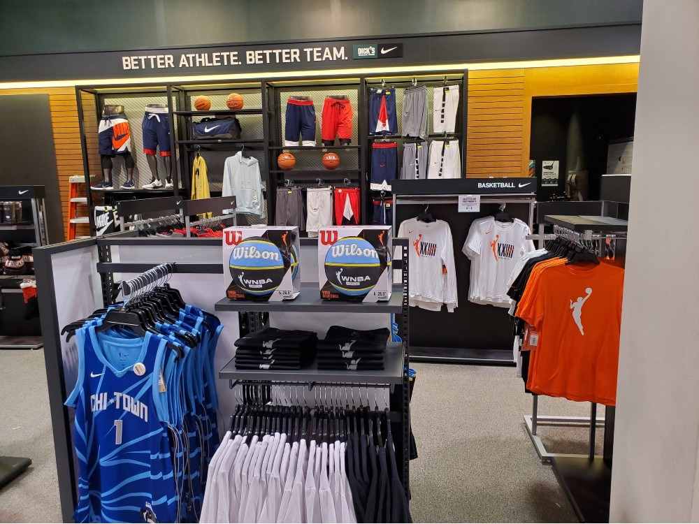 Dick's Sporting Goods has entered into a partnership with the WNBA that will see it sell the league's Nike jerseys