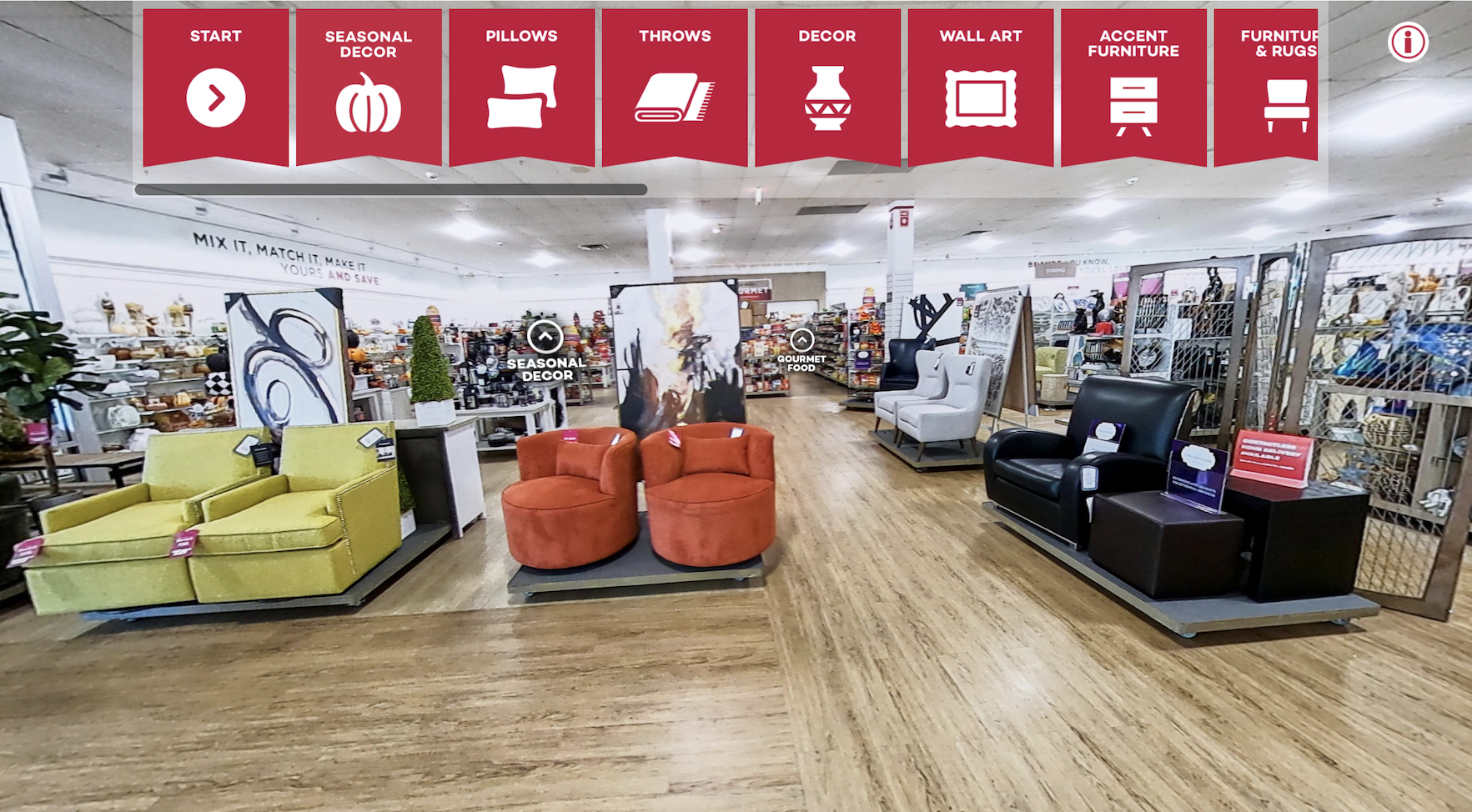 TJX finally brought HomeGoods, the off-price home textiles and decor chain, online ahead of what should be a hectic holiday retail season.