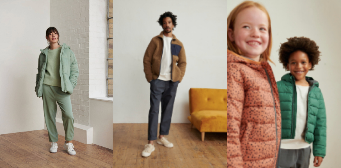 The Anyday value line that started with home and baby clothes now includes offerings in men's wear, women's wear and children's wear.