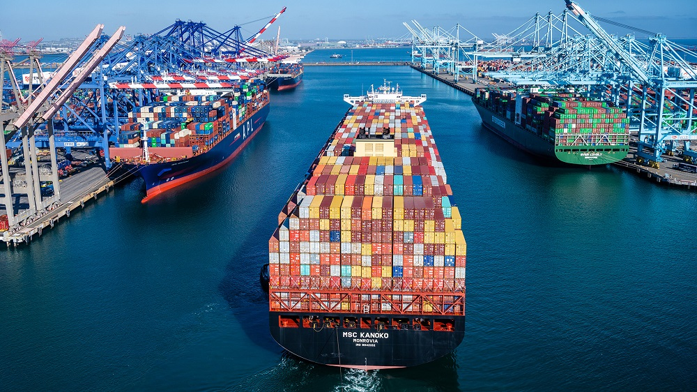 The ports of Long Beach and Los Angeles set new measures to improve freight movement and reduce delays as they experience record volumes.