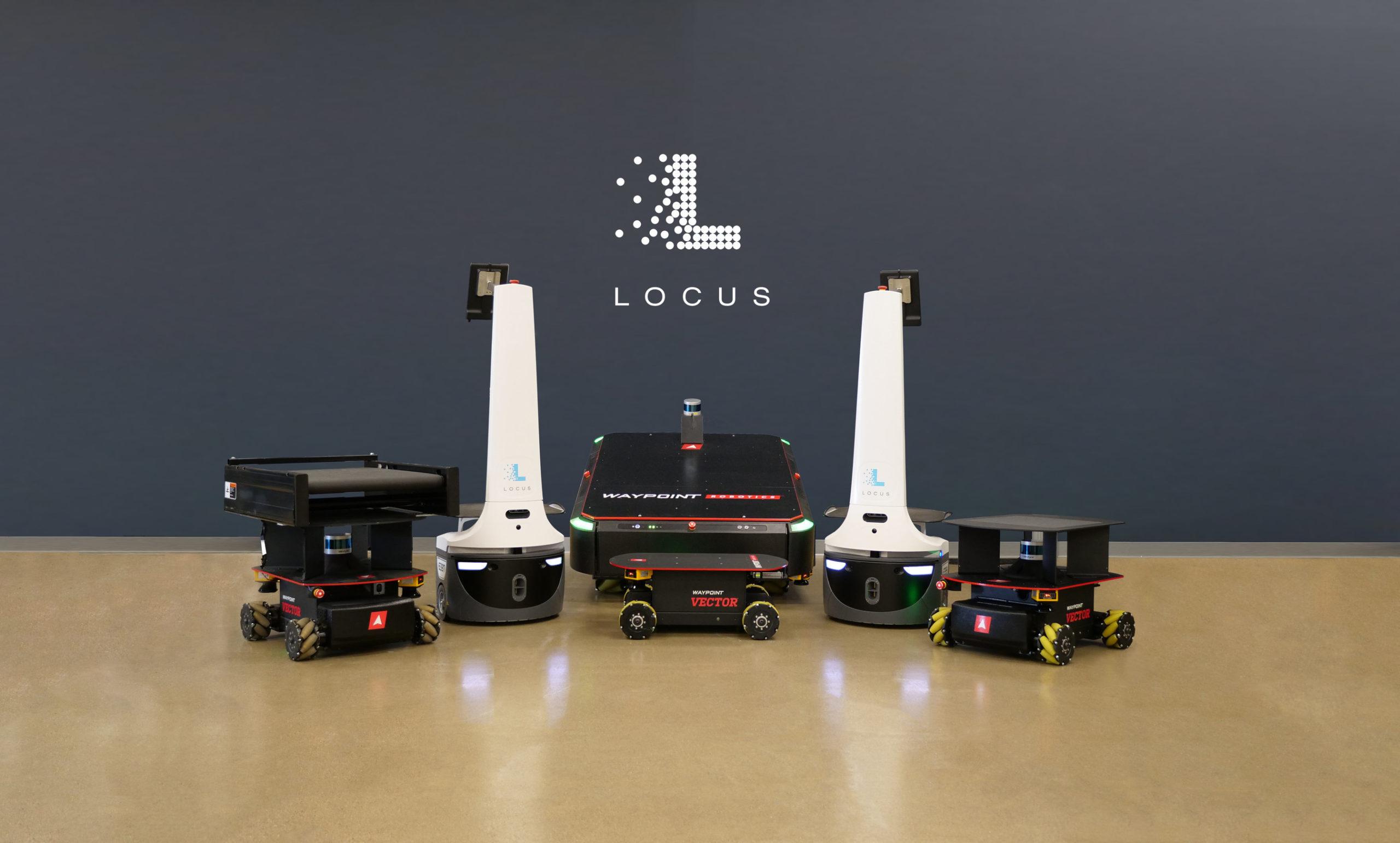 Locus Robotics acquired Waypoint Robotics for an undisclosed sum.
