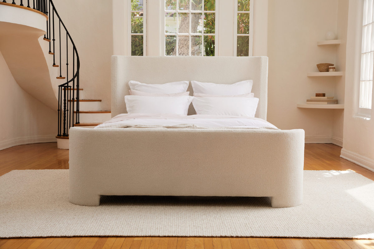 Soft goods and decor company Parachute is expanding into the furniture category with a new line of bed frames hitting the market now with additional furnishings set to debut in early 2022.