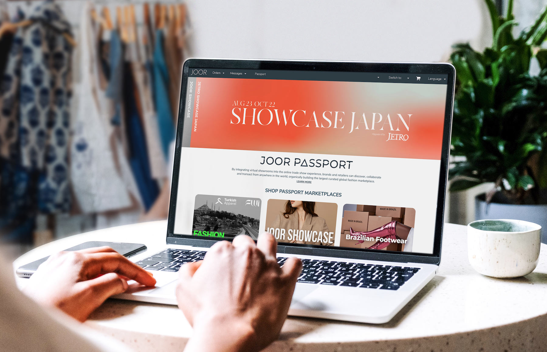 In partnership with The Japan External Trade Organization (JETRO), JOOR is presenting Showcase Japan from August 23 to October 22, 2021, marking the second iteration of the virtual fashion trade show.