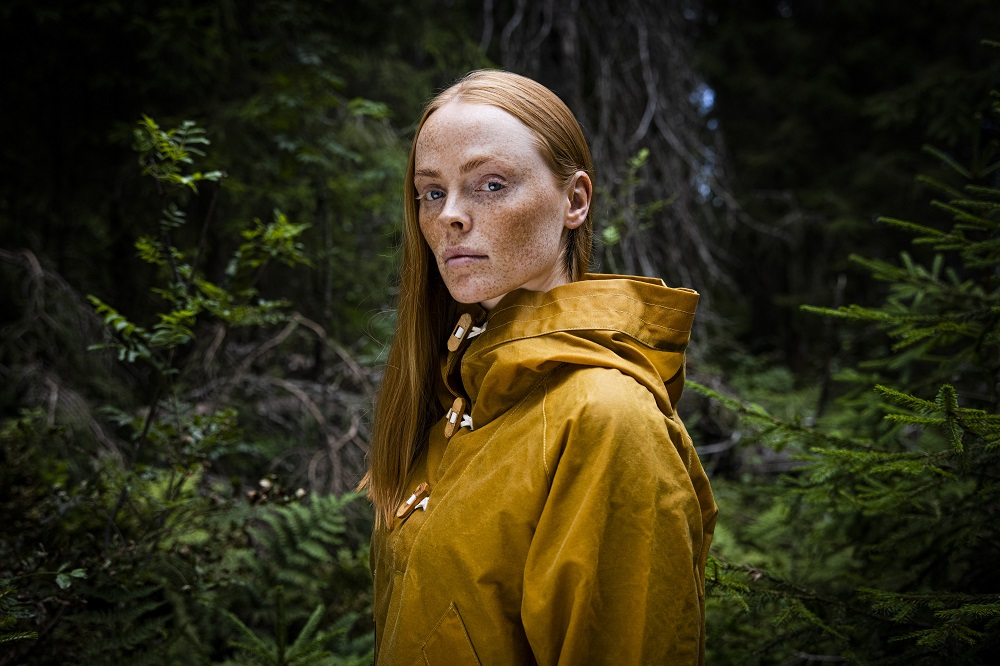 """The circular Collection of Tomorrow by Bergans and Spinnova has grown to include the 0.5B Anorak outerwear in a new color, """"Wake Up Orange."""""""