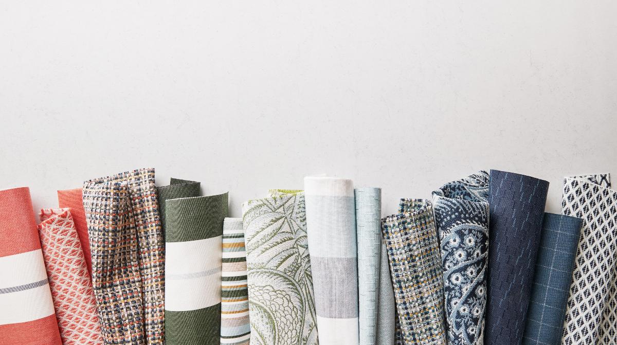 Sunbrella outdoor fabric and textile trends