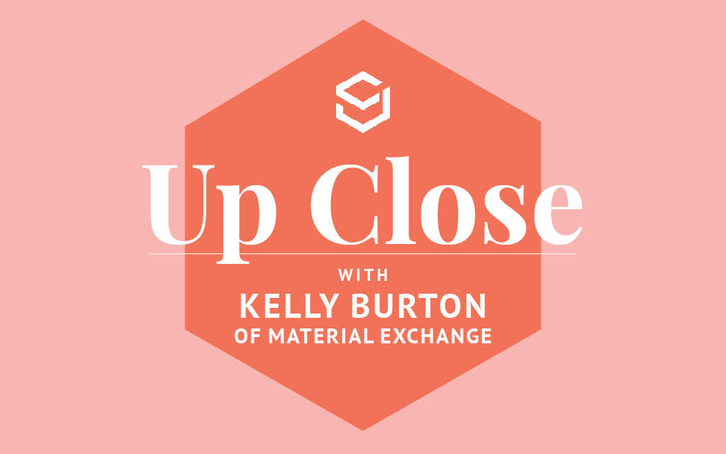 In this Q+A, Material Exchange's Kelly Burton explains what ethical consumption means to her and why sourcing needs a digital makeover.