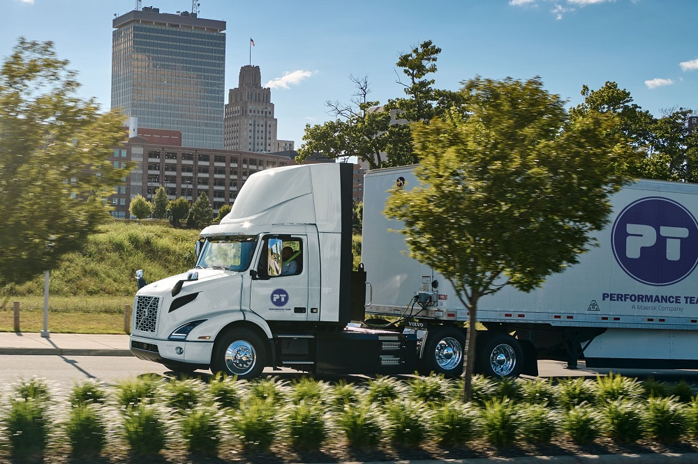 Performance Team, a Maersk Company, is adding 16 new Volvo VNR Electric Class 8 trucks to its fleet to replace 16 diesel trucks.
