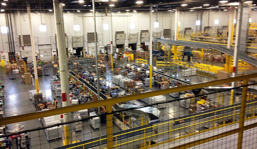 Productivity-obsessed Amazon found its warehouse worker strategy in the cross-hairs of California's newly passed Assembly Bill 701.