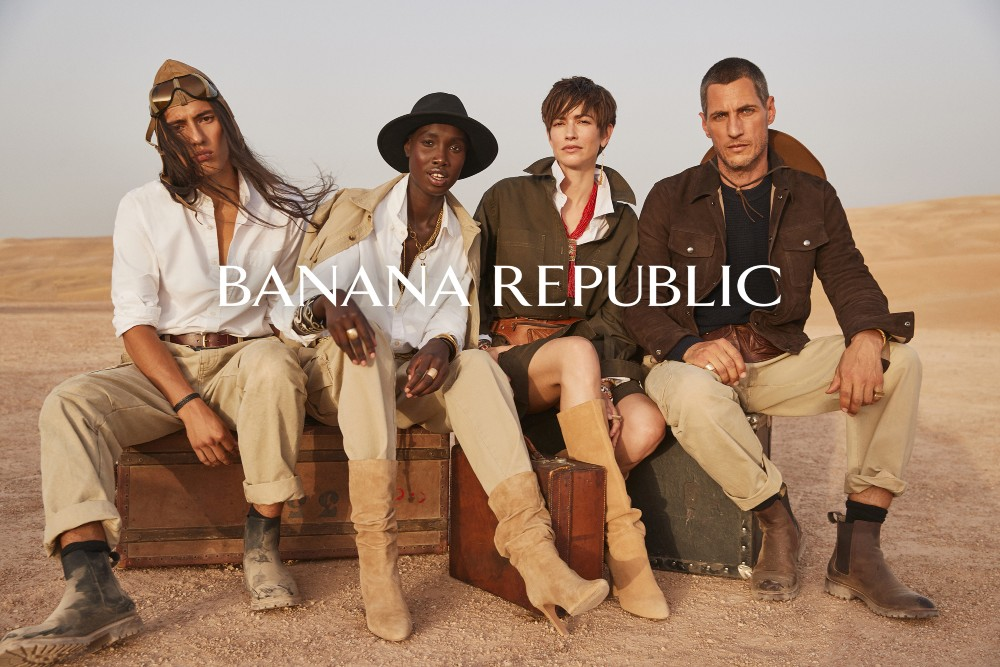 """Gap Inc.'s Banana Republic aims for """"post-genre fashion"""" with The New Look, which is """"always relevant, always current, never not modern."""""""