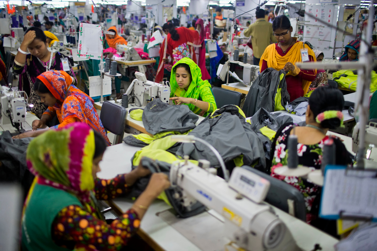 Bangladesh has come out ahead of Vietnam in the race for the world's No. 2 exporter of clothing after China, at least for the moment.