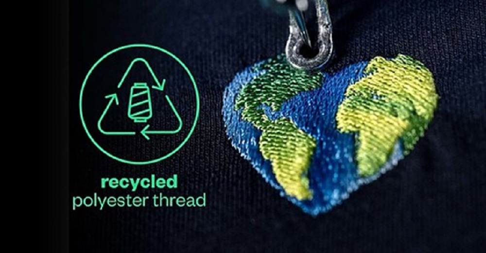 Coloreel is shifting to 100 percent recycled polyester thread to be used with its instant thread coloring technology for embroideries.