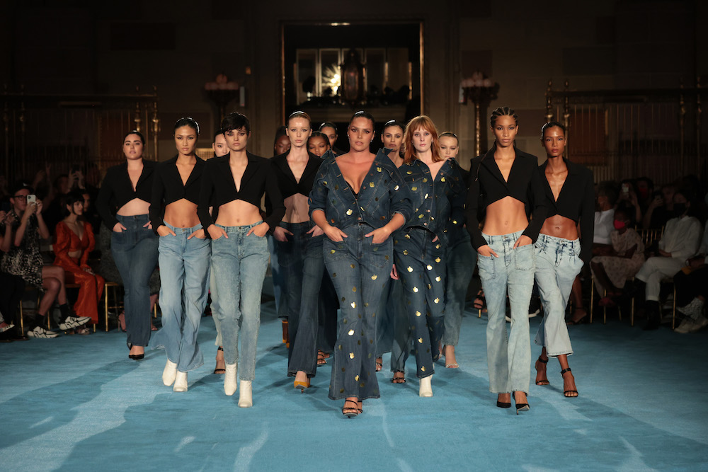 Christian Siriano kicked off New York Fashion Week Tuesday night with a first look at his denim designs for Gloria Vanderbilt.