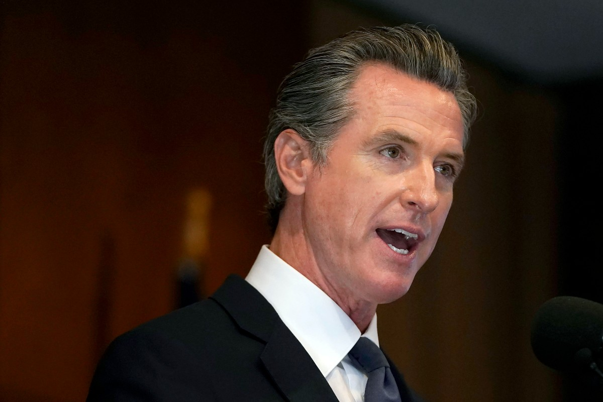 California Governor Gavin Newsom got the state's closely watched garment worker bill across the finish line.