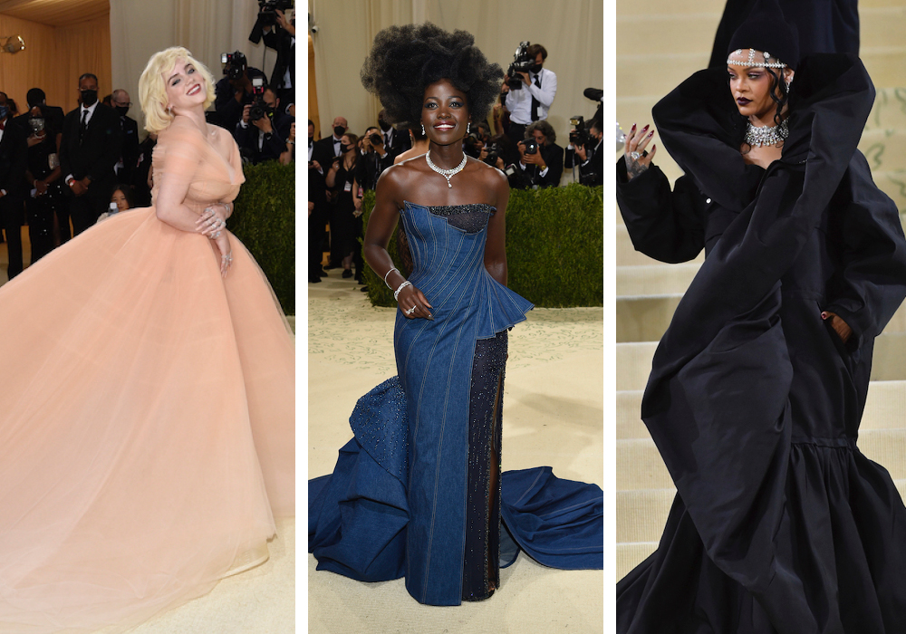 """Met Gala guests took both literal and creative approaches to dressing for the Costume Institute's """"In America: A Lexicon of Fashion"""" show."""