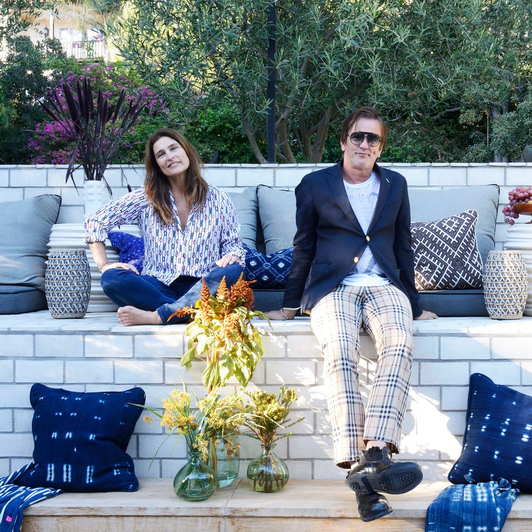Husband-and-wife design duo Cortney and Robert Novogratz have teamed up with JC Penney for a new home line.