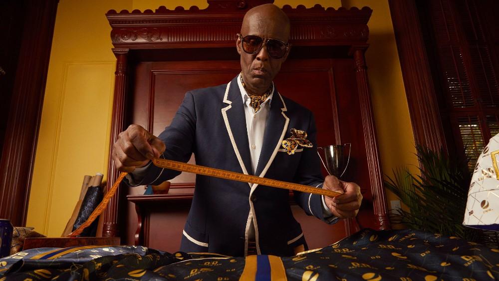 Dapper Dan at his Harlem atelier.