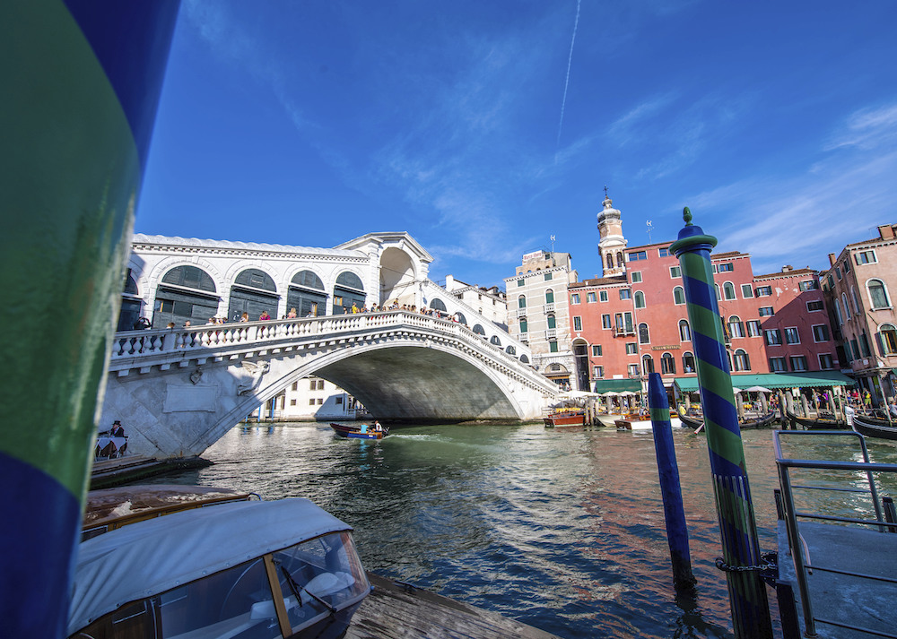 Venice feted the completion of a full restoration of the Rialto Bridge, funded by Diesel founder Renzo Rosso, OTB Group and OTB Foundation.