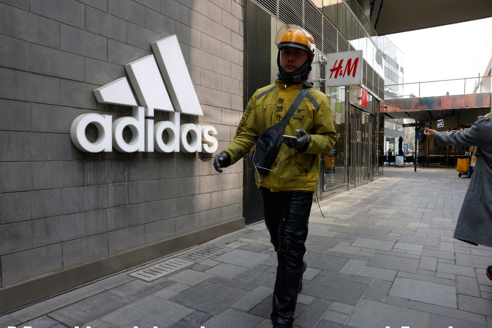 Adidas originally took legal action against H+M in 1997 when the Swedish retailer released workout apparel bearing a vertical double stripe.