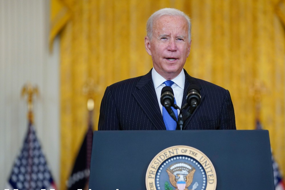 President Joe Biden pushed for an overhaul of the nation's entire freight transportation and logistical supply chain
