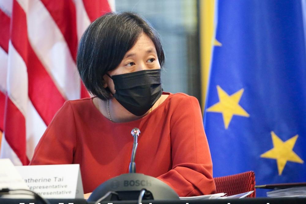 United States Trade Representative Katherine Tai outlined the Biden Harris' China trade policy