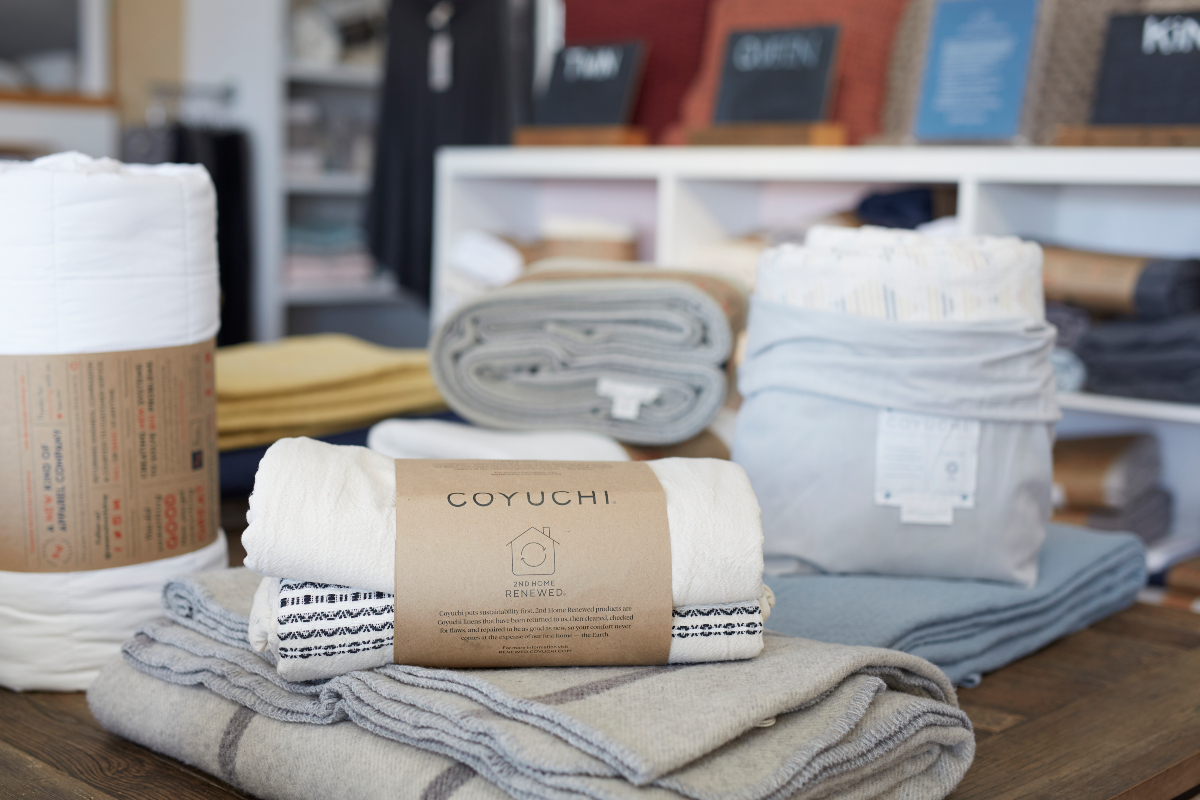 When luxury bedding company Coyuchi launched 30 years ago, it had few peers in the business of making products with organic cotton.