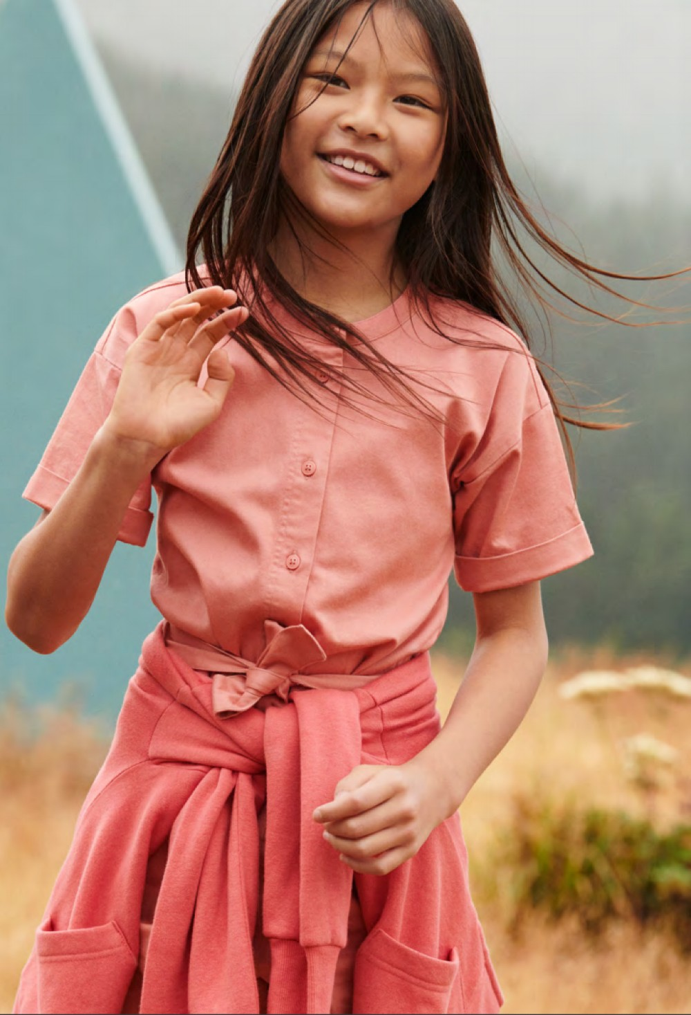 After one year on store shelves, Walmart has expanded the private label men's and women's apparel brand to include children's clothing.