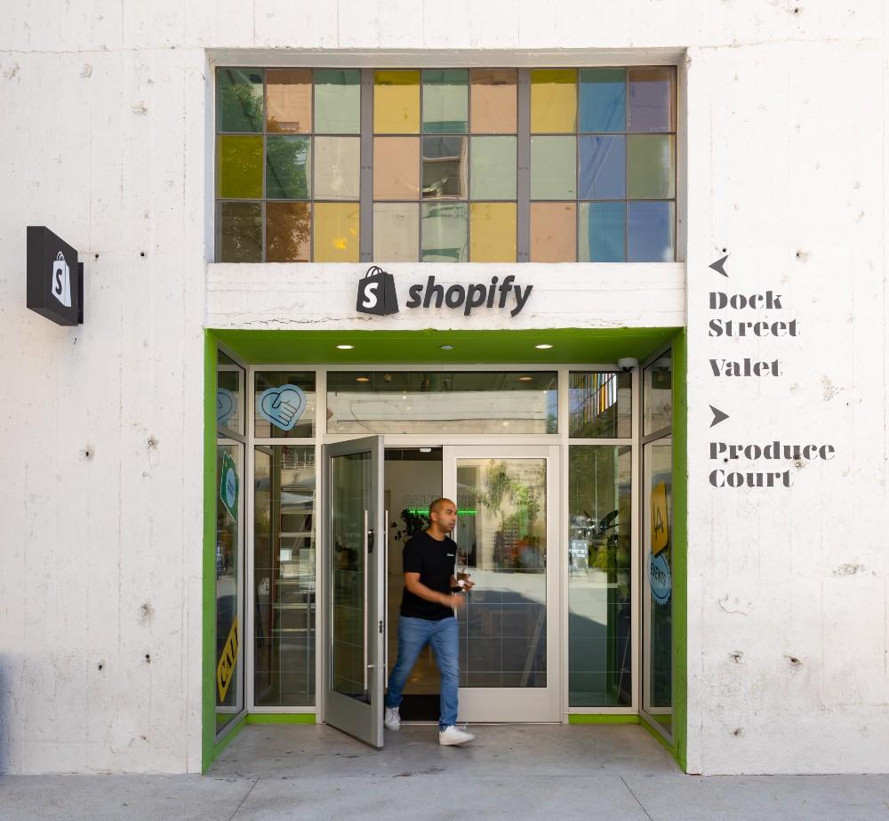 Shopify LA's ROW DTLA location has reopened.