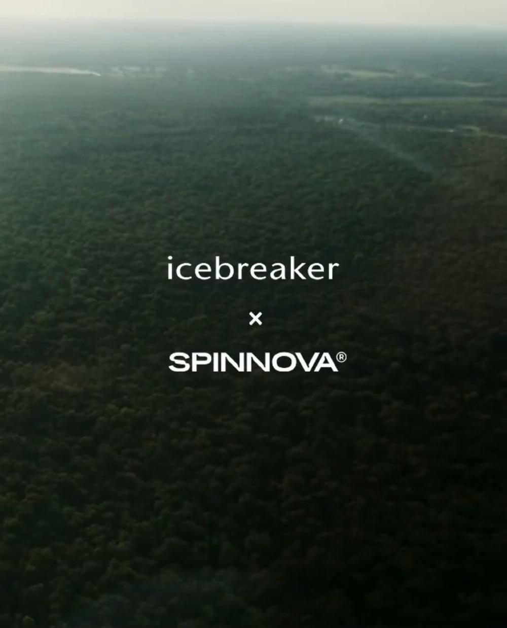 Icebreaker has partnered with material maker Spinnova to create a fully circular merino wool fiber.